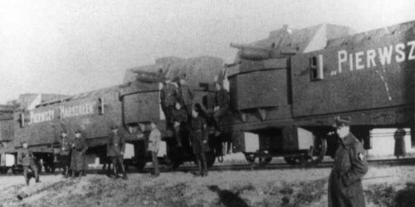 pociąg pancerny Pierwszy Marszałek